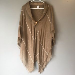 Accessories - Unbranded shawl or scarf tan